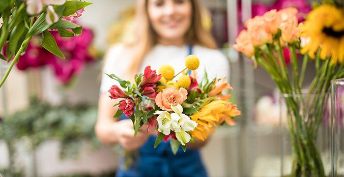 Красивые цветы с доставкой домой