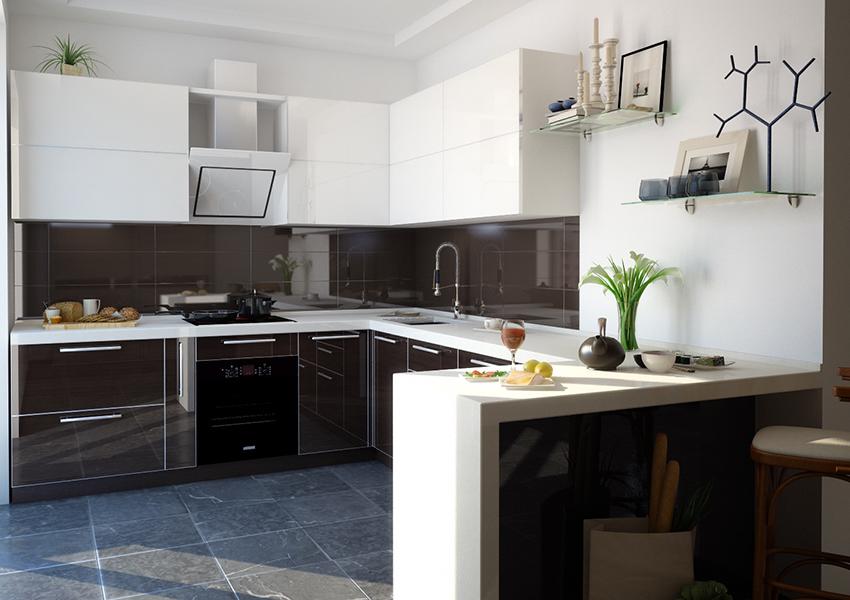 Як підібрати побутову техніку до кухонних меблів?