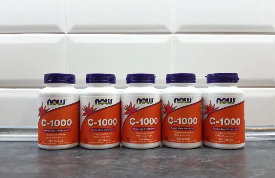 Эффективные пищевые добавки (БАДы) производства США - NOW Foods. Витамин С-1000