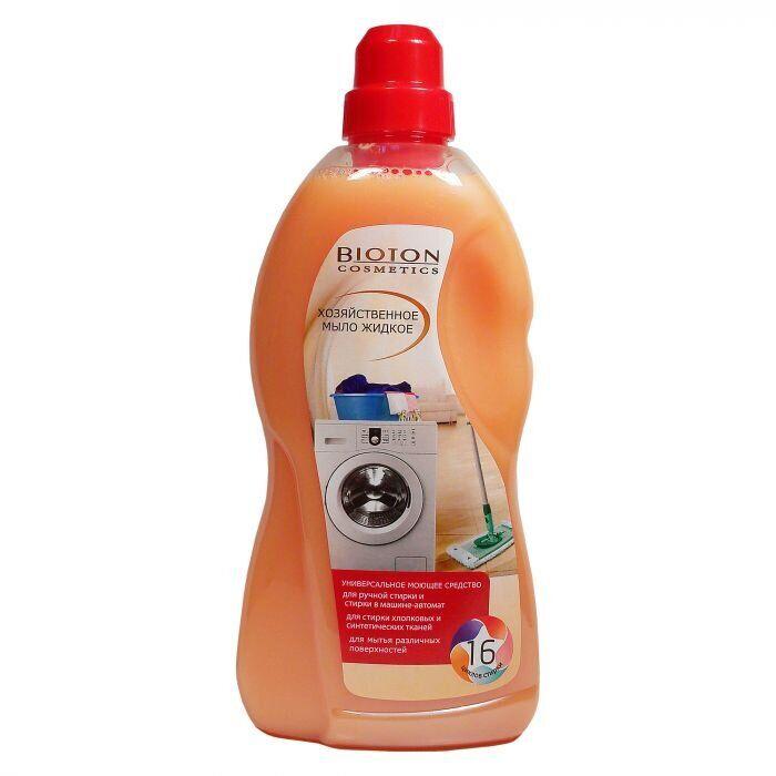 Жидкое хозяйственное мыло Биотон, 1000мл
