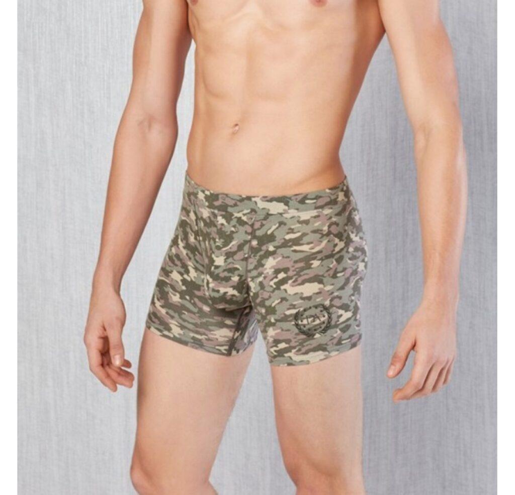 Мужское нижнее белье: боксеры Doreanse boxer 1815 из хлопка и модала камуфляжной расцветки