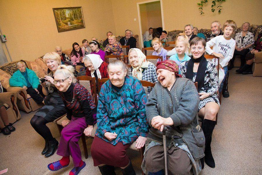 Преимущества пребывания в доме престарелых