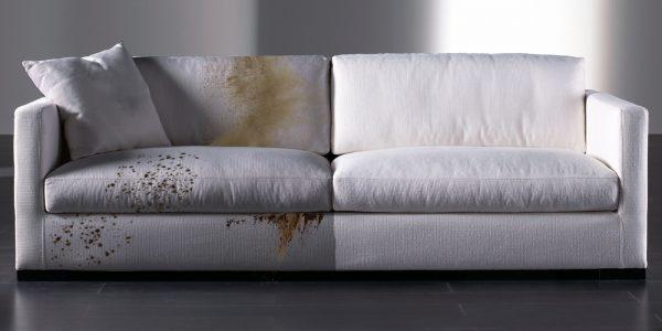 Профессиональная химчистка дивана: до и после заказа услуги