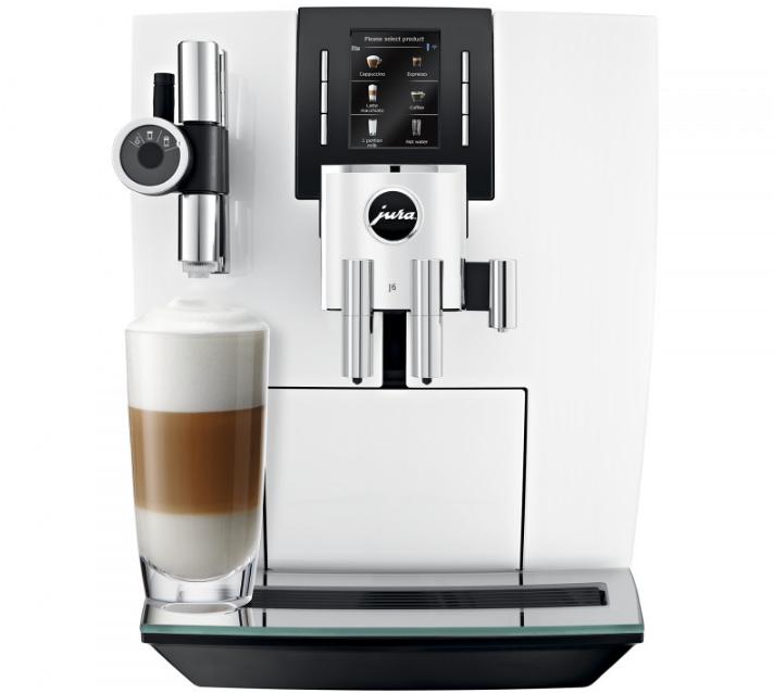 Домашняя кофемашина JURA J6 Piano White (хит продаж 2020 года)