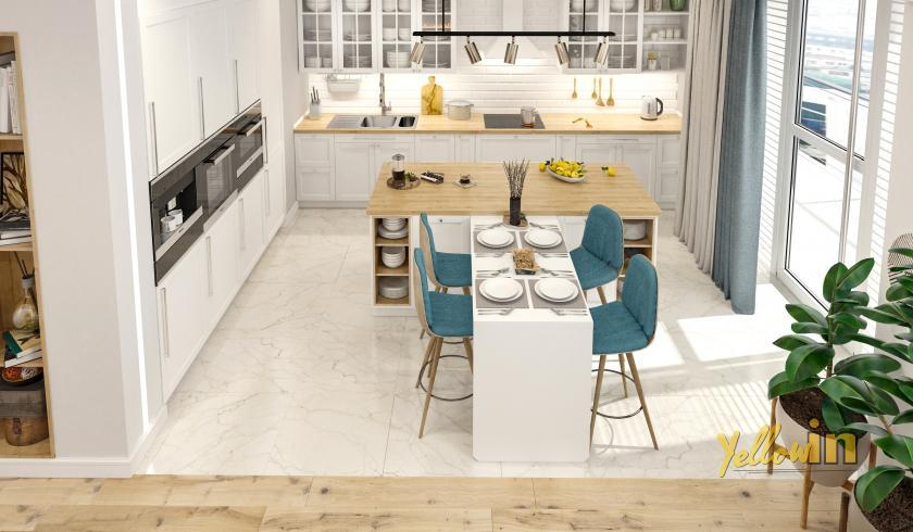 Квартира в скандинавском стиле от студии дизайна интерьеров Yellow In