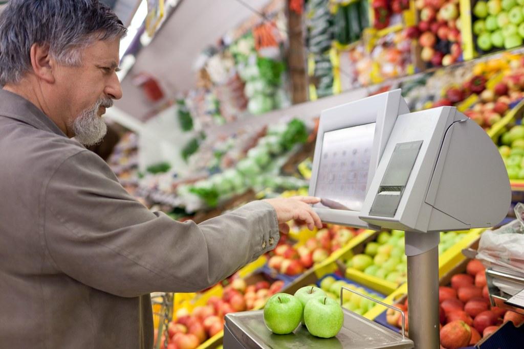Торгові ваги для супермаркету