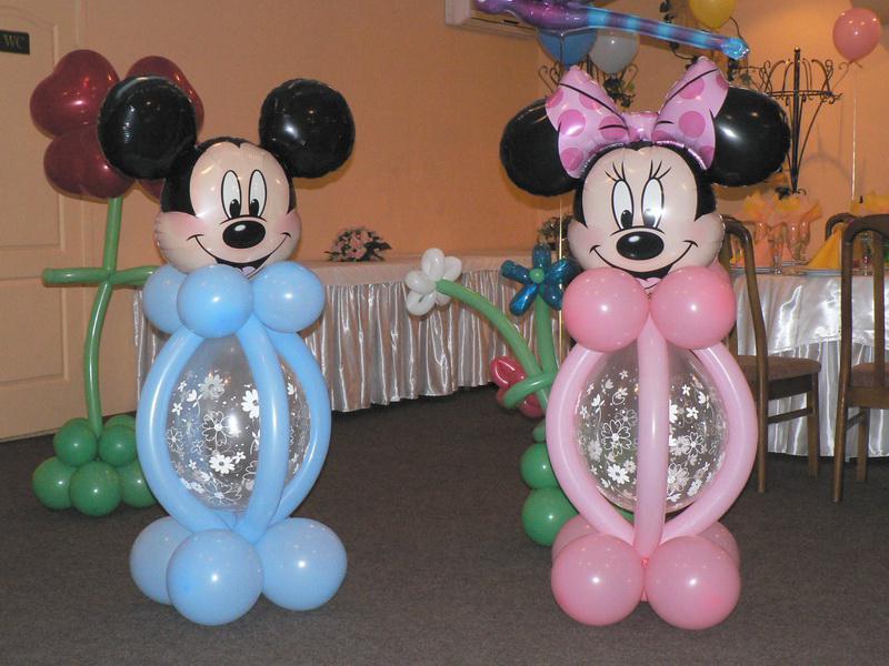 Воздушные шары на детском дни рождения