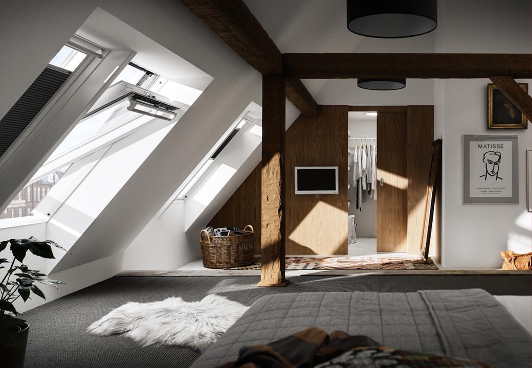 Затишна спальня на мансарді: дизайн та ідея спеціалістів https://vashamansarda.com/