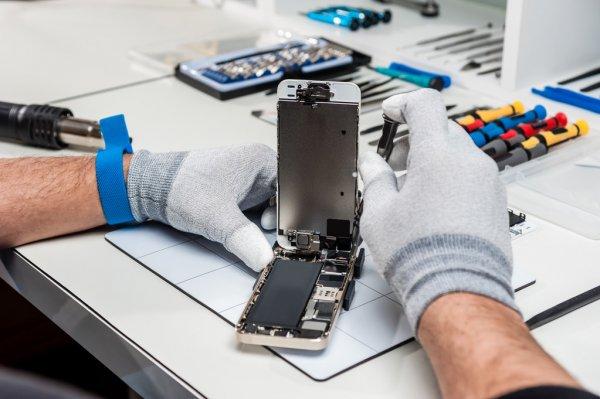 Процент ремонта мобильного телефона