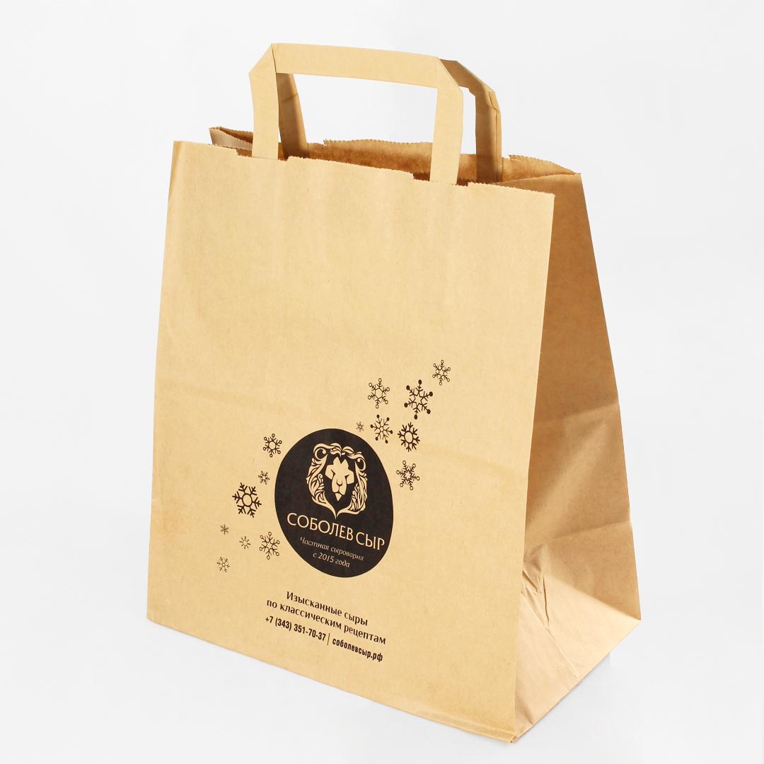 Яркий пример качественной печати на пакетах «Соболев сыр»