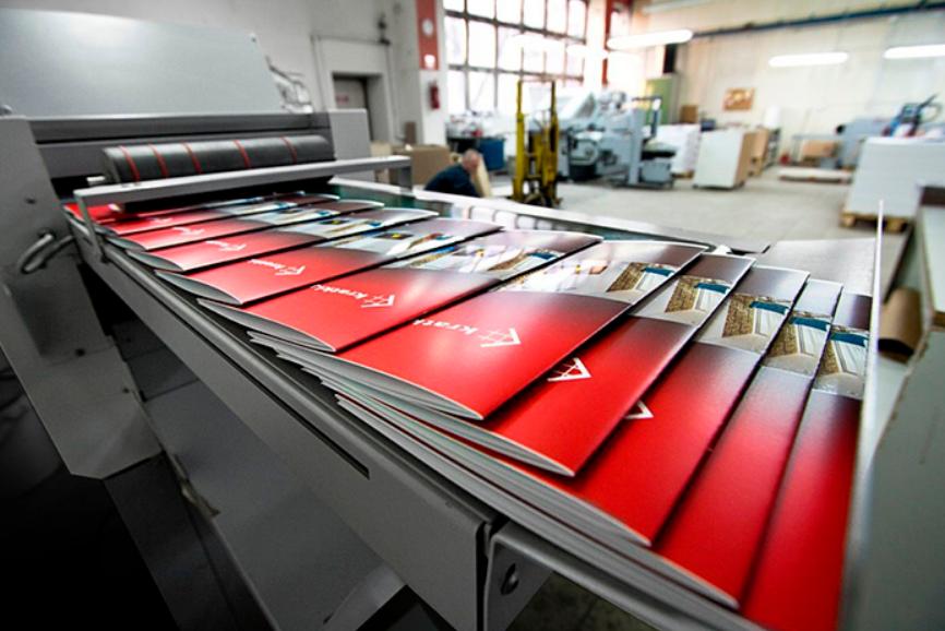 Процесс работы типографии