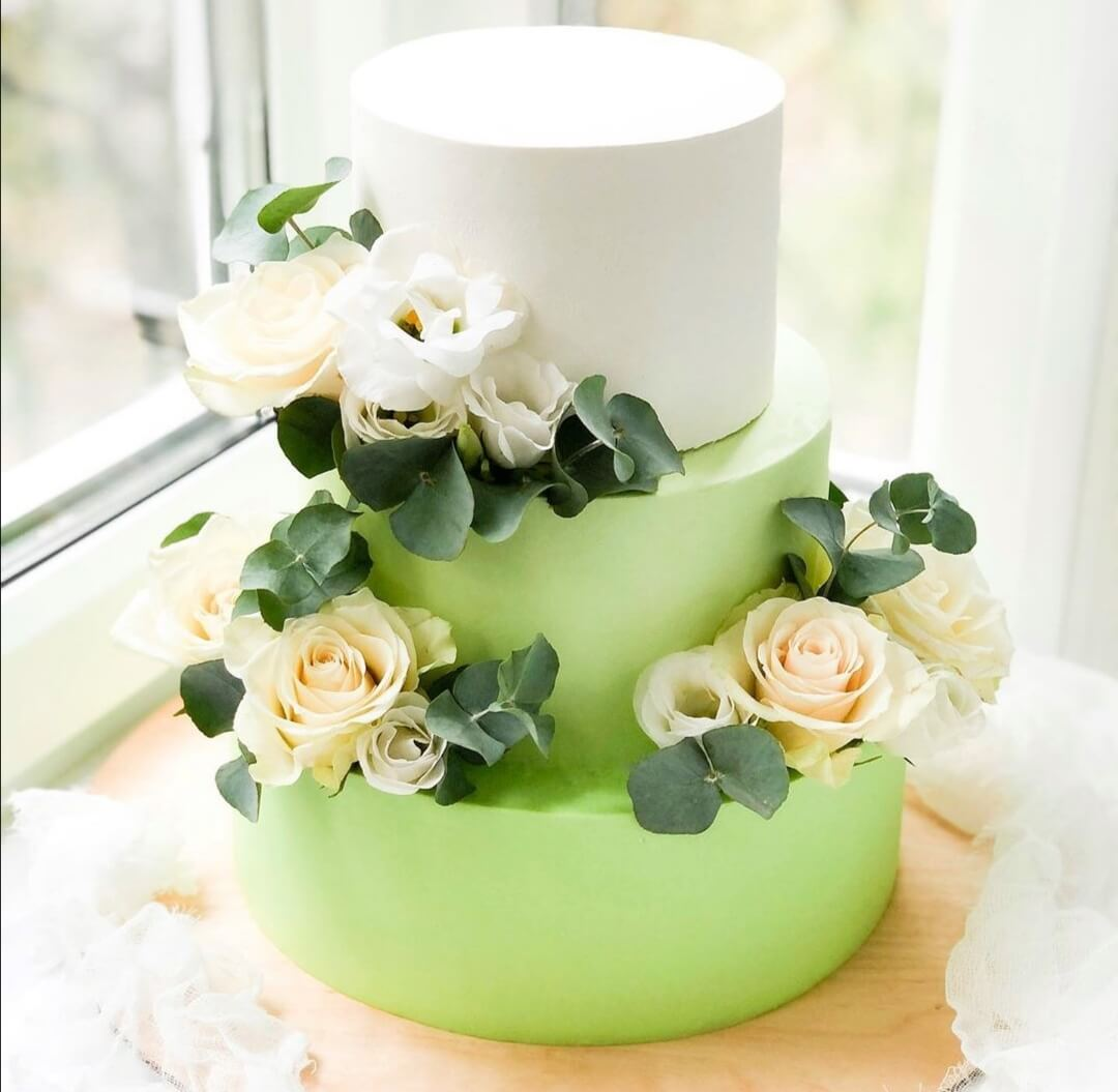 Свадебный торт на заказ «Весенний»