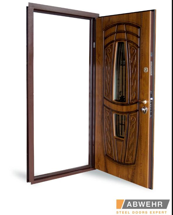 Качественные входные двери со стеклом (товар магазина abwehr.com.ua)