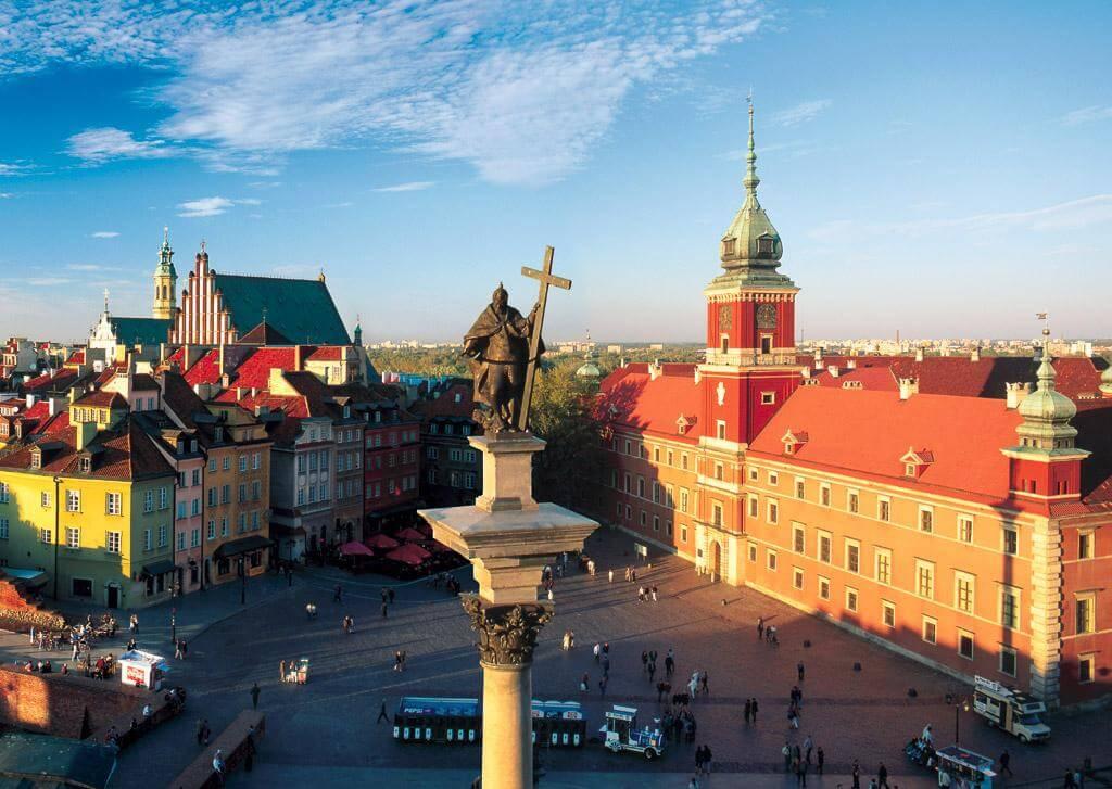 Місто Варшава у Польщі